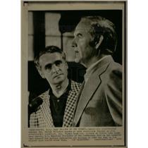 1972 Press Photo Sen George McGovern & Thomas Eagleton - DFPD01693