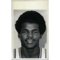 1973 Press Photo Curtis Rowe Detroit Pistons - dfpd30047