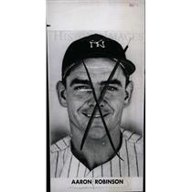 1947 Press Photo Aaron Robinso American Baseball player - dfpd40099