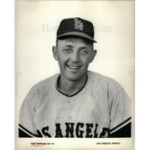 1964 Press Photo Tom Morgan baseball El Monte, CA - DFPD07243