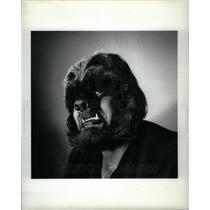 1981 Press Photo winter street look Commando Cowboy - DFPD62061