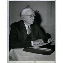 1943 Press Photo Alfred C. Edison Detroit Edison - DFPD15685