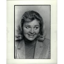1982 Press Photo Joan Anderson Wilkins TV habit - DFPD55875