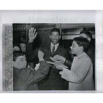 1967 Press Photo Jim Walker basketball Detroit pistons - DFPD50065
