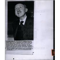 1959 Press Photo Professor George Charles de Hevesy - DFPD13561