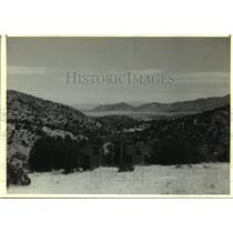 1990 Press Photo Gray Ranch, in New Mexico, Owned by the Nature Conservatory