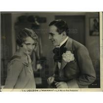 "1930 Press Photo Al Jolson & Lois Moran Star in Warner Bros. Production ""Mammy"""