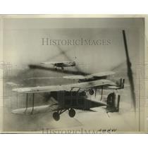 1929 Press Photo Three monoplanes shown on their flight - nem60933