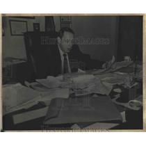 1981 Press Photo Tom Sorrels, District Attorney in Dothan, Alabama - abna39750