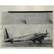 1939 Press Photo Medium Size U.S Army Bombers made in Douglas Aircraft