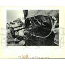 1988 Press Photo Hammond Balloon Festival. - nob24169