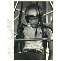 1981 Press Photo Charlie Hallal, 15-Year-Old Hang Glider - nob27893