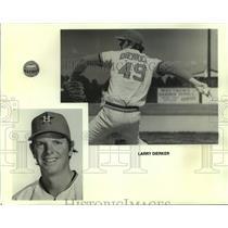 1974 Press Photo Larry Dierker, Astros Baseball Player - nos11294
