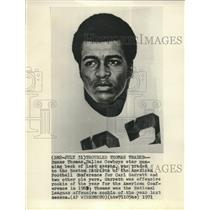 1971 Press Photo Duane Thomas Dallas Cowboys star running back traded