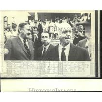 1971 Press Photo Deposed Australian Prime Minister Gorton & others Parliament