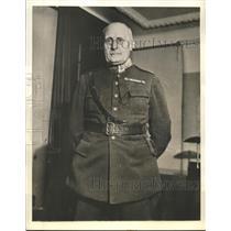 1940 Press Photo Lt Gen Olof Gerhard Phoernell Sweden Commander in Chief