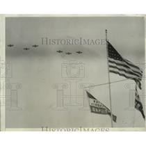 1929 Press Photo United Army Fighter Planes in Formation - nem62650