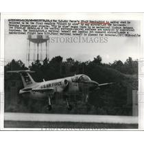 1968 Press Photo American Air Force plane Hummingbird makes conventional flight