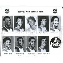 1980 Press Photo New Jersey Nets Roger Phegley Robert - RRQ46155