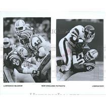 Press Photo Lawrence Larry McGrew New England Patriots - RRQ46917