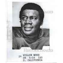 1971 Press Photo S. California Willie Wood - RRQ48763