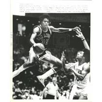 1978 Press Photo Larry Kenon/Basketball/Maurice Cheeks - RRQ48765