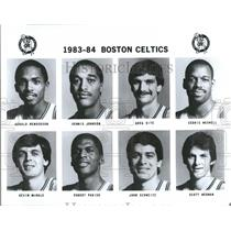 1983-1984 Press Photo Boston Celtics Basketball Team - RRQ50133