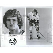 1976 Press Photo Robert Glen Bourne New York Islanders - RRQ50247
