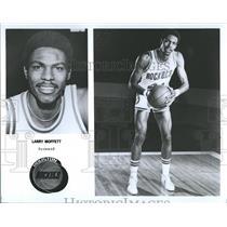 1977 Press Photo Houston Rockets Forward Larry Moffett - RRQ50343