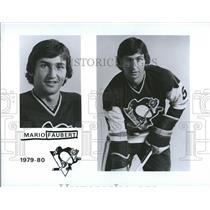 1979 Press Photo Pittsburgh Penguins Roster Faubert - RRQ50451