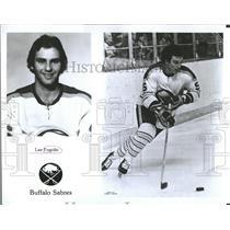 1977 Press Photo Lee Joseph Fogolin Chicago Hockey - RRQ50463