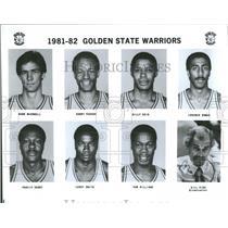 1981 Press Photo NBA Golden State Warriors Team Photo - RRQ52053