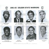1981 Press Photo NBA Golden State Warriors Team Photo - RRQ52055