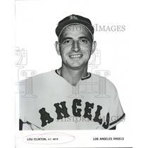 1969 Press Photo Luciean ClintonLos Angeles Angels New - RRQ53569
