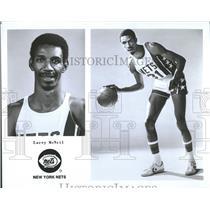 1976 Press Photo New York Nets Larry McNeil - RRQ53801