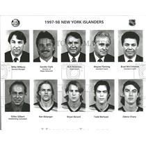 1997 Press Photo New York Islanders Mike Milbury Gordie - RRQ53829