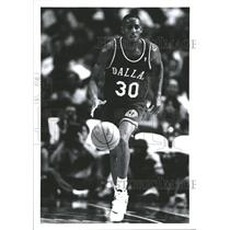 1994 Press Photo Lucious Harris Dallas Mavericks - RRQ59063
