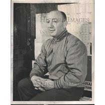 1950 Press Photo Sid Novak Coach McKinley High School - RRQ61251