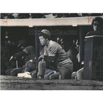 1980 Press Photo Maury Wills Seattle Mariners Baseball - RRQ59375