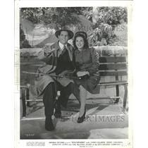1941 Press Photo James Ellison Dorothy Lewis Ice Capade - RRQ11261
