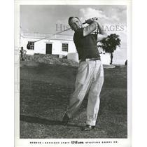 1952 Press Photo Charles Herbert Indianapolis Hoosier - RRQ10225