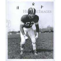 1952 Press Photo Dick Tamburo NFL Center Linebacker MI - RRQ29115