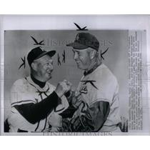 1960 Press Photo Milwaukee Bravers Charley Dressen - RRQ45295