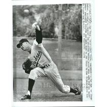 1961 Press Photo Herb Score Pitcher San Diego Padres - RRQ57073