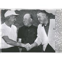 1962 Press Photo Baseball Golf American League Manager - RRQ36605