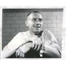 1962 Press Photo Dick McGuire Coach Detroit Pistons - RRQ65069