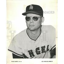 1962 Press Photo Los Angeles Angels Ryne Duren - RRQ72557