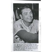 1964 Press Photo Mets Pitcher Smiles after Victory - RRQ15885