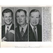 1964 Press Photo Football Allison Hubert Alabama Gaints - RRQ38679