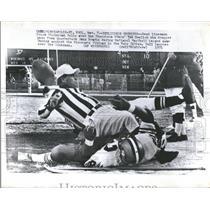 1971 Press Photo PressBruce Finlaysen American Football Player - RRQ66007